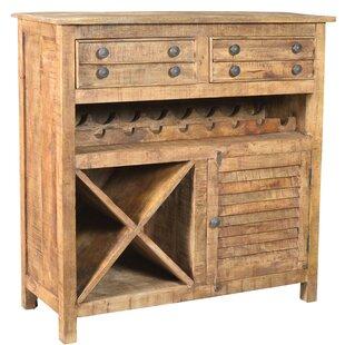 Gayla Floor Wine Cabinet by Bloomsbury Market