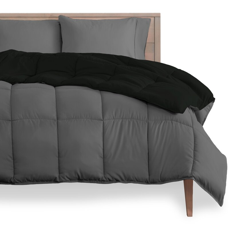 Ebern Designs Geng Single Reversible Comforter Reviews Wayfair