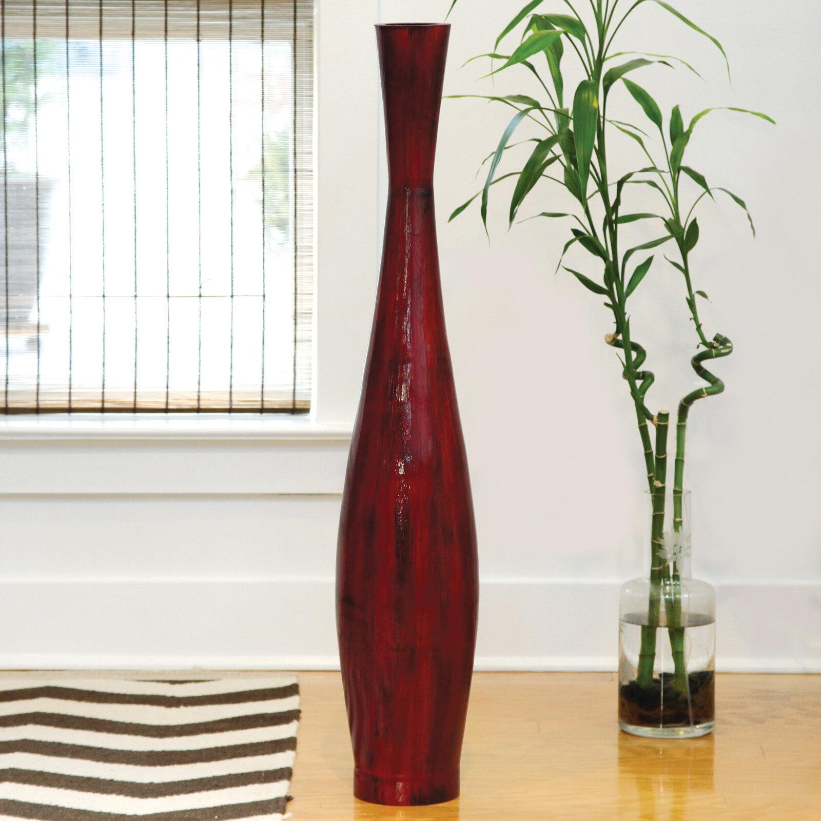 World menagerie trumpet resin floor vase reviews wayfair floridaeventfo Gallery