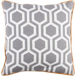 Antonia Geometric Cotton Throw Pillow