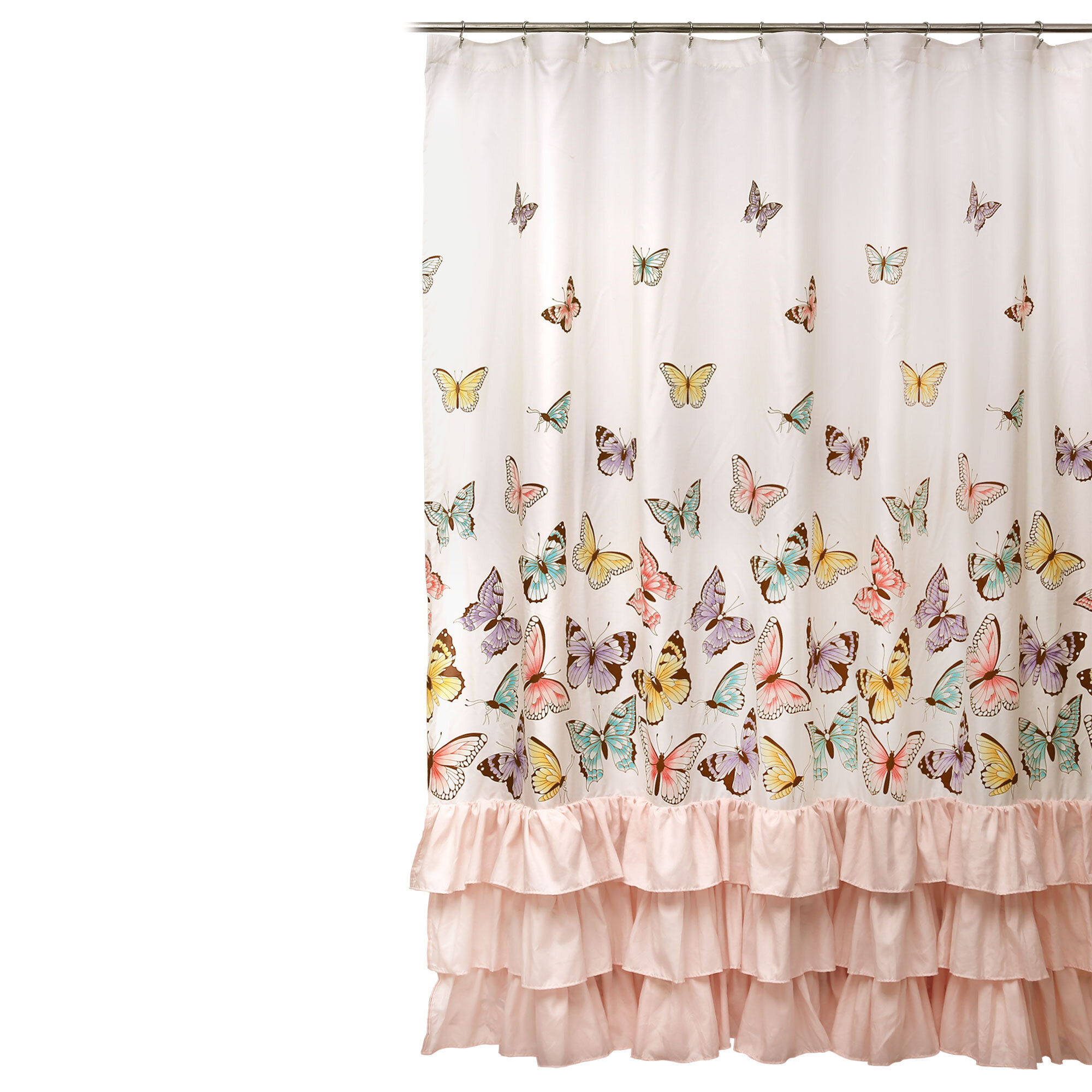 Ruffled Shower Curtains Shower Liners You Ll Love In 2021 Wayfair