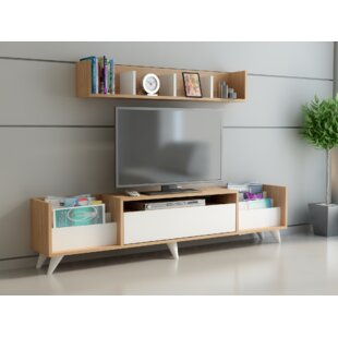 Buy clear Cabezas TV Stand for TVs up to 70 ByWrought Studio