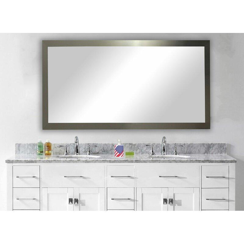 Wade Logan Bathroom/Vanity Wall Mirror & Reviews | Wayfair
