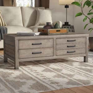 Brianne Coffee Table with Lift Top by Union Rustic