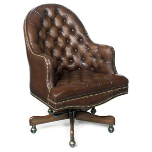 Hooker Furniture Derby Prairie Leather Desk Chair