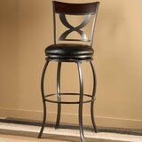 Nutter Bar & Counter Swivel Stool by Fleur De Lis Living