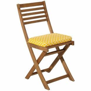 Compare Price Chevron Fiji Garden Dining Chair Cushion (Set Of 2)
