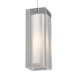 1-Light Square/Rectangle Pendant by Tech Lighting