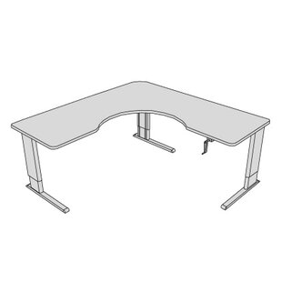 Maciejewski L-Shape Corner Desk by Latitude Run Savings