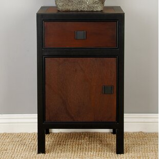Wood 1 Drawer Nightstand by Cole & Grey