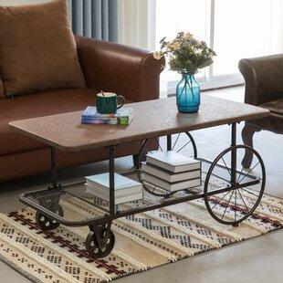 Rustic Wagon Coffee Table Wayfair