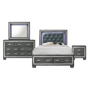 Anthea Platform 4 Piece Bedroom Set