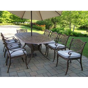 Mississippi 9 Piece Dining Set