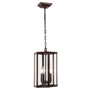 Mickey 3-Light Geometric Chandelier by Charlton Home