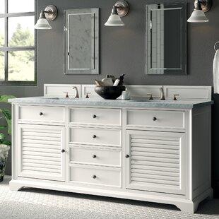 Comparison Osmond 72 Double Bathroom Vanity Set ByGreyleigh