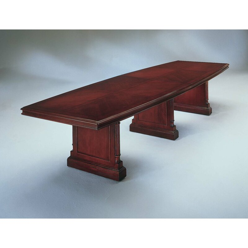 Darby Home Co Prestbury Boat Shaped H X W X L Conference - 144 conference table