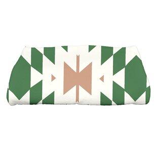 Soluri Geometric Print Bath Towel