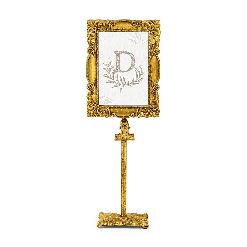 Weddingstar Rectangular Baroque Standing Picture Frame | Wayfair