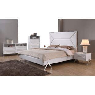 Anouk Panel 4 Piece Bedroom Set