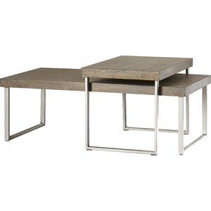 Asine 2 Piece Coffee Table Set