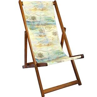 Osiris Reclining Deck Chair By World Menagerie