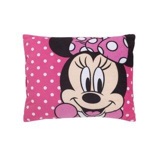 Disney Minnie Mouse Soft Decorative Toddler Lumbar Pillow