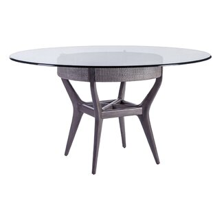 Signature Designs Dining Table with Glass Top