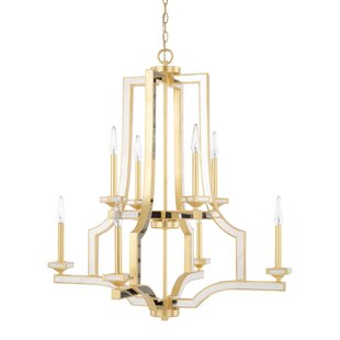 Top Reviews Bobby 8-Light Chandelier By Everly Quinn