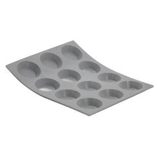 Elastomoule Silicone Mini Round Tartlet Mold