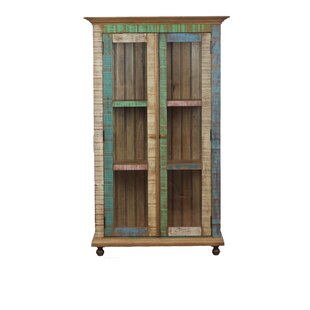 Replogle Display Curio Cabinet by Bloomsbury Market