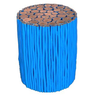 Tropical Wood Accent Stool by Asian Art Imports