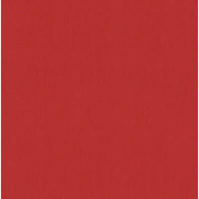 Red Barrel Studio FELICIA - Modern Colourful Accent Red Wallpaper Roll Colour: Red