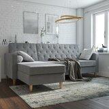 "Liberty 84"" Reversible Sleeper Sofa & Chaise"