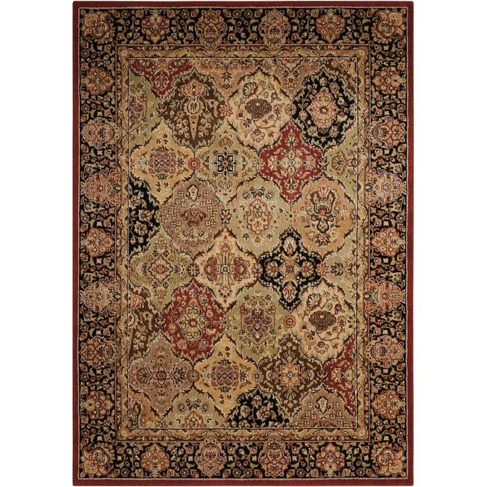 Lumiere Persian Wool Multicolor Area Rug