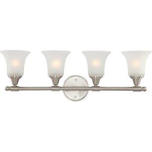 Best Reynal 4-Light Vanity Light By Charlton Home