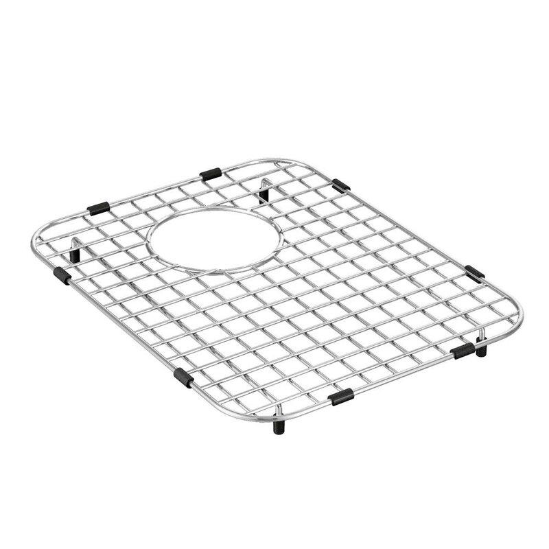 Ga782b Moen 12 X 16 Stainless Steel Bottom Sink Grid Wayfair