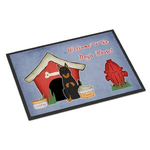Dog House Beauce Shepherd Dog Doormat