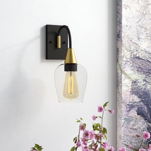 Yeager 1-Light Armed Sconce by..