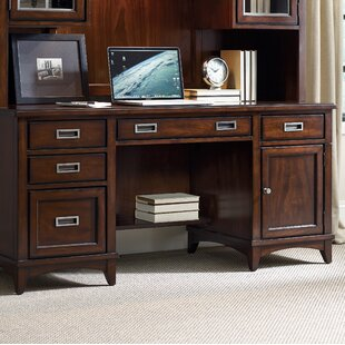 Latitude 5 Drawer Computer Credenza Desk by Hooker Furniture Sale