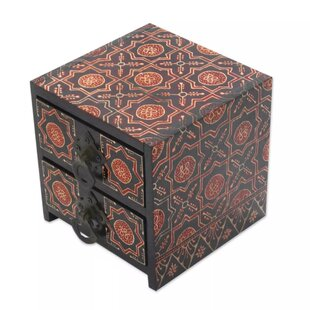 Inexpensive Wood Jewelry Box ByBungalow Rose