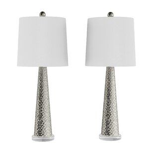 Glass Clear White Shade Table Lamps You Ll Love In 2021 Wayfair