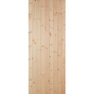 Manufactured Wood Unfinished External Door