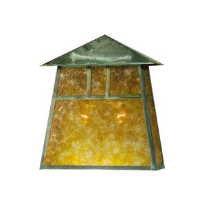 Affordable 2-Light Outdoor Flush Mount By Meyda Tiffany