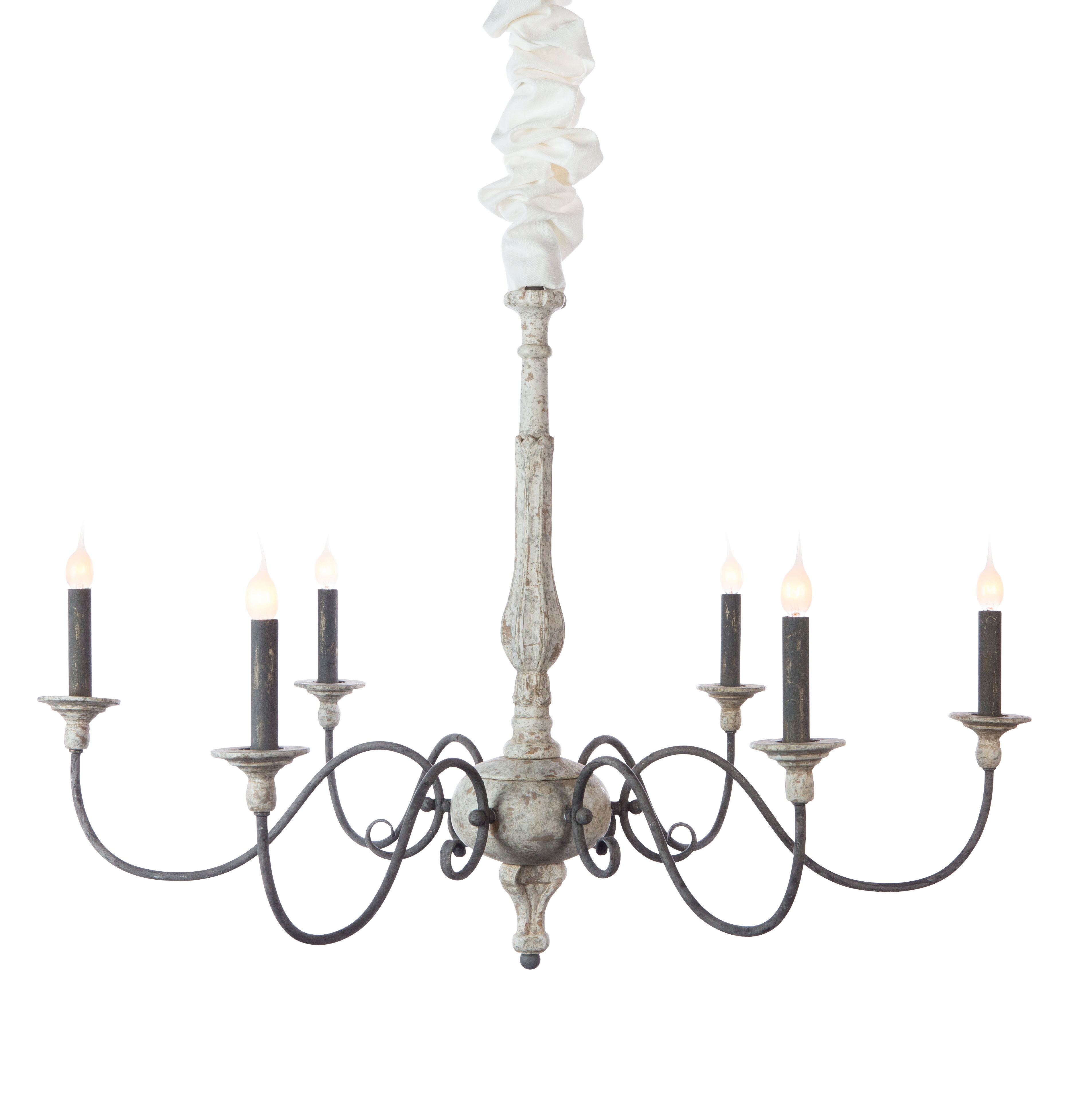 Aidan Gray Corinne 6 Light Candle Style Chandelier & Reviews