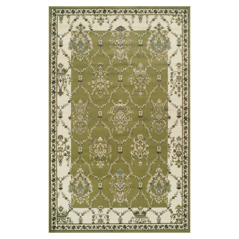 Anselm Olive Green Area Rug
