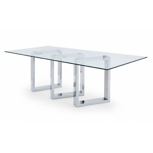 Ables Rectangle Dining Table by Orren Ellis