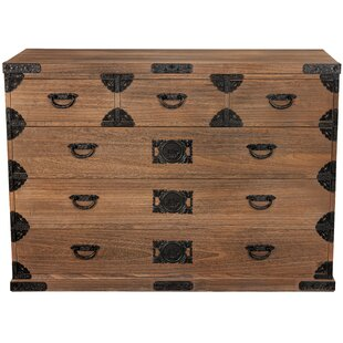 Lashley Tansu 6 Drawer Dresser