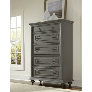 Look for Landover Wooden 5 Drawer Chest by One Allium Way
