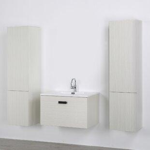 32 Wall-Mounted Single Bathroom Vanity Set