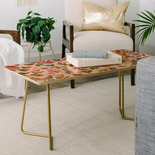 Gabriela Larios Birdsong Coffee Table by East Urban Home